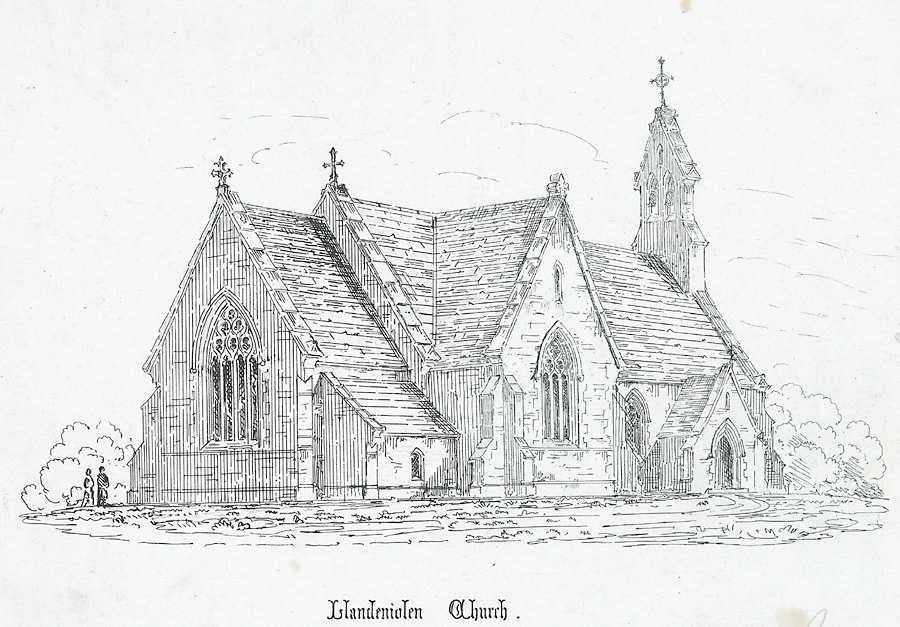 Llandeniolen Church, North Wales