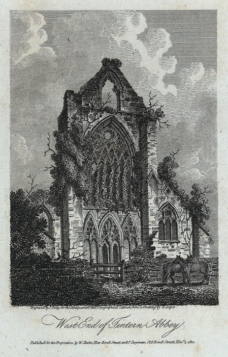 West end of Tintern Abbey