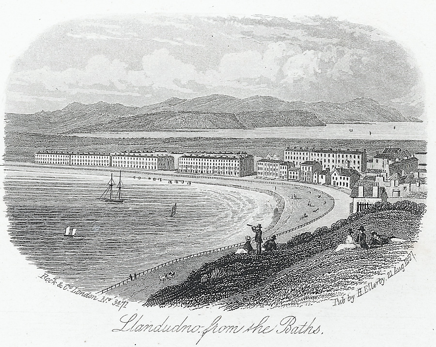 Llandudno from the baths