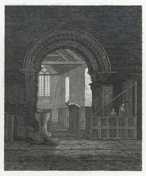 [Interior St. Thomas' Church, Monmouth.]