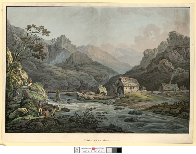 Bedkellert Mill, Caernarvonshire