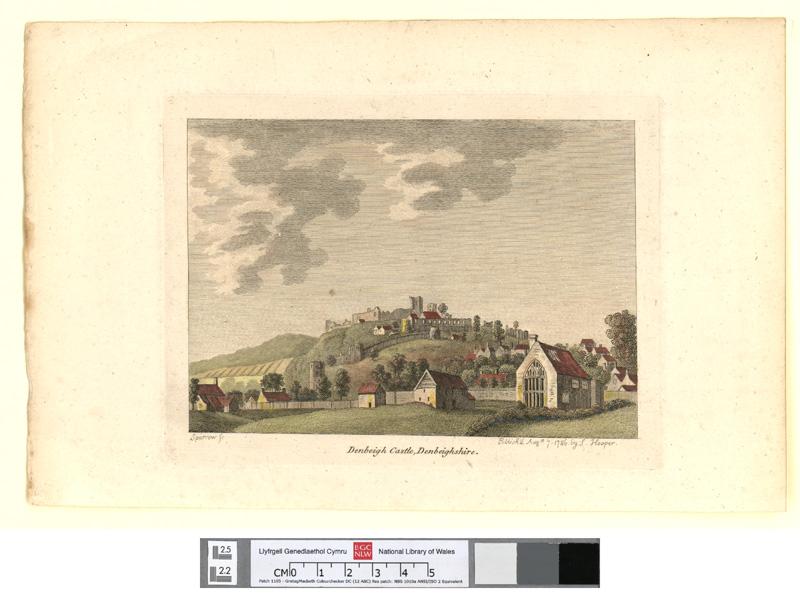 Denbeigh castle, Denbeighshire