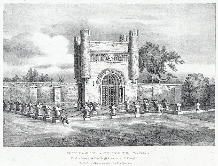 Entrance to Penrhyn Park