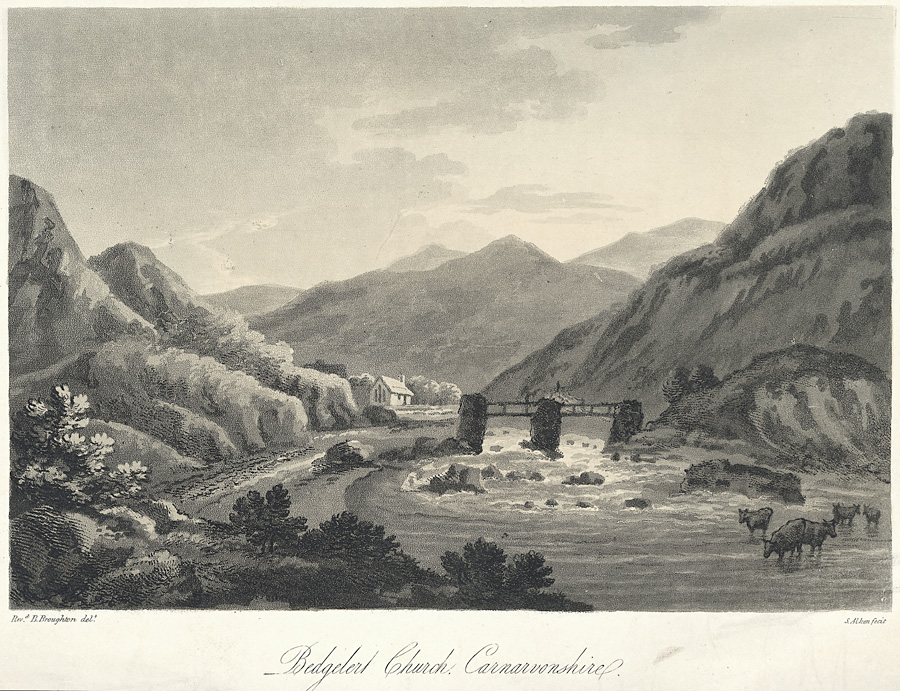 Bedgelert church, Carnarvonshire