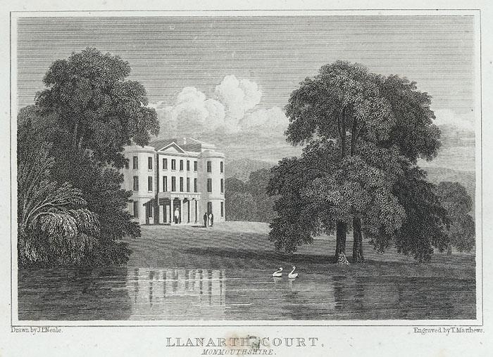Llanarth court, Monmouthshire