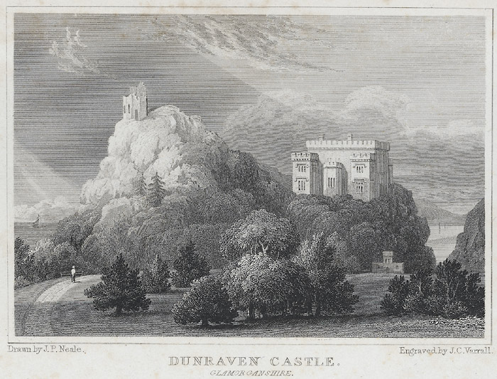 Dunraven castle, Glamorganshire