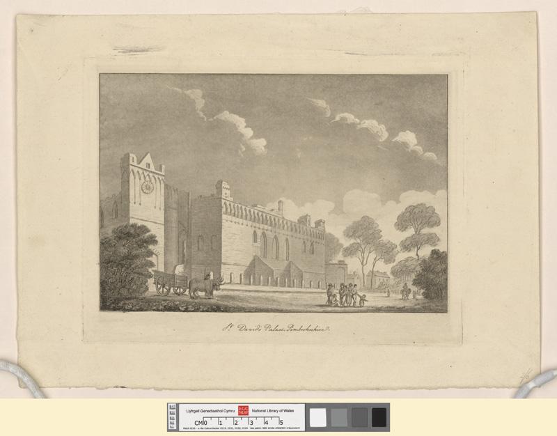 St. David's Palace, Pembrokeshire