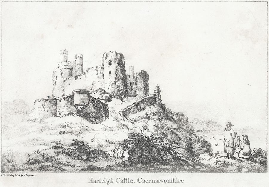 Harleigh Castle, Caernarvonshire