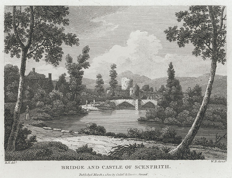 Bridge and Castle of Scenfrith