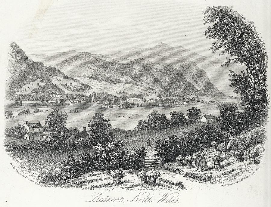 Llanrwst, north Wales