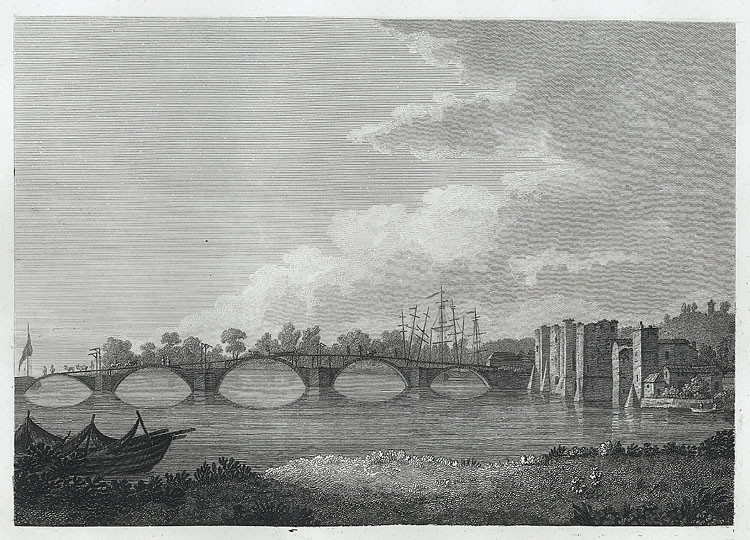 [Bridge & Castle at Newport]