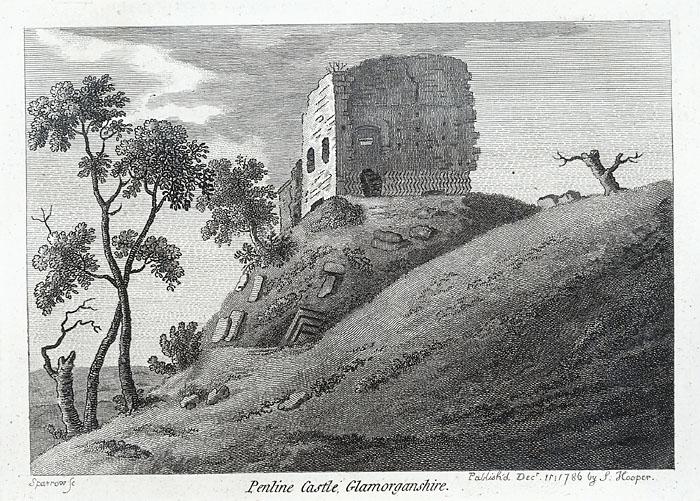 Penline castle, Glamorganshire