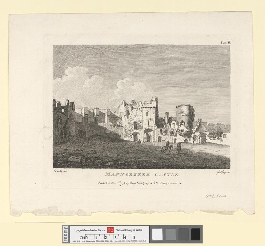 Mannorbeer Castle Nov 1st 1778
