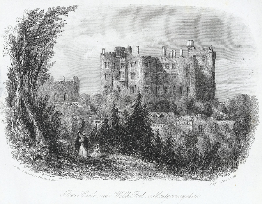 Powis Castle, Near Welsh Pool, Montgomeryshire