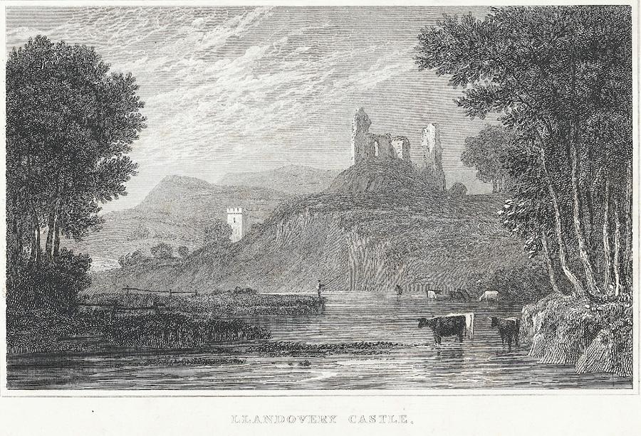 Llandovery Castle, Carmarthenshire
