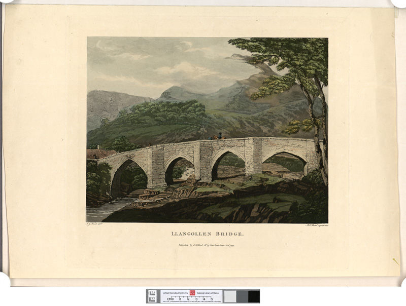 Llangollen bridge 1793