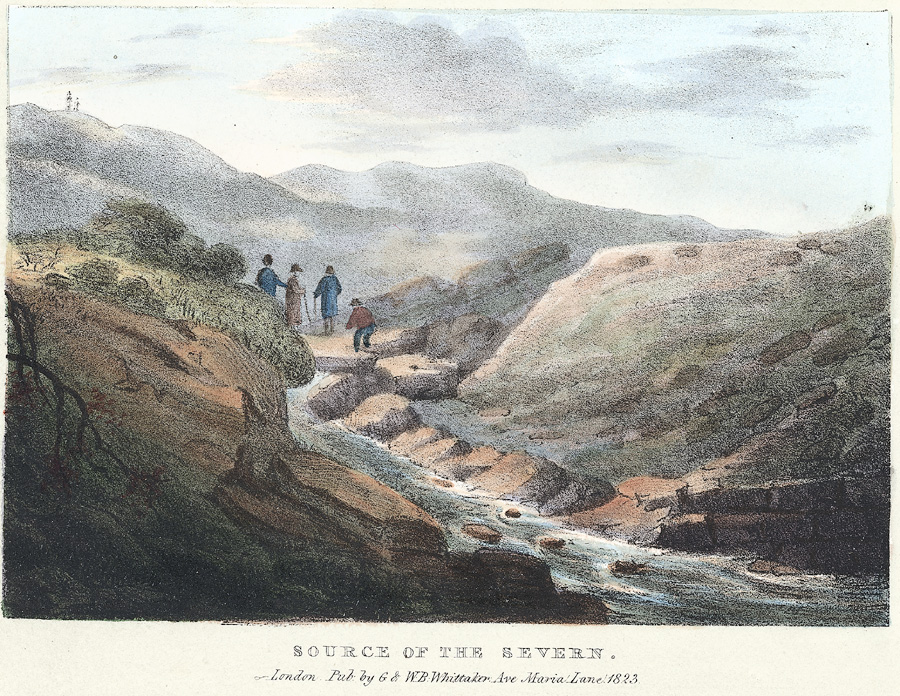 Source of the Severn