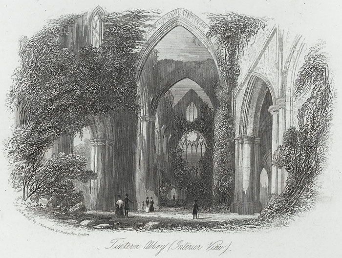 Tintern Abbey, interior view