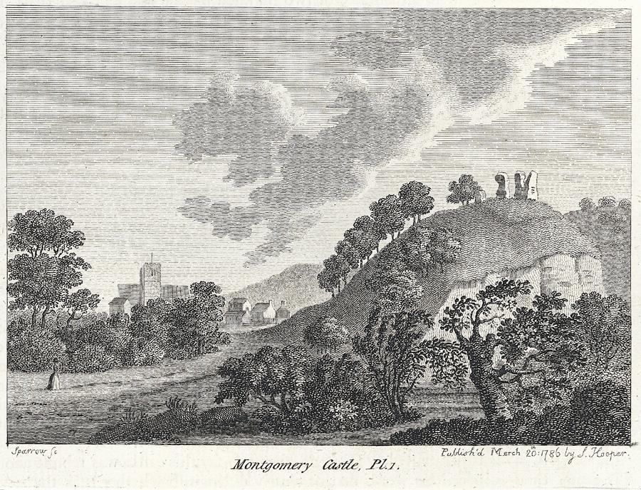 Montgomery Castle, Pl.1