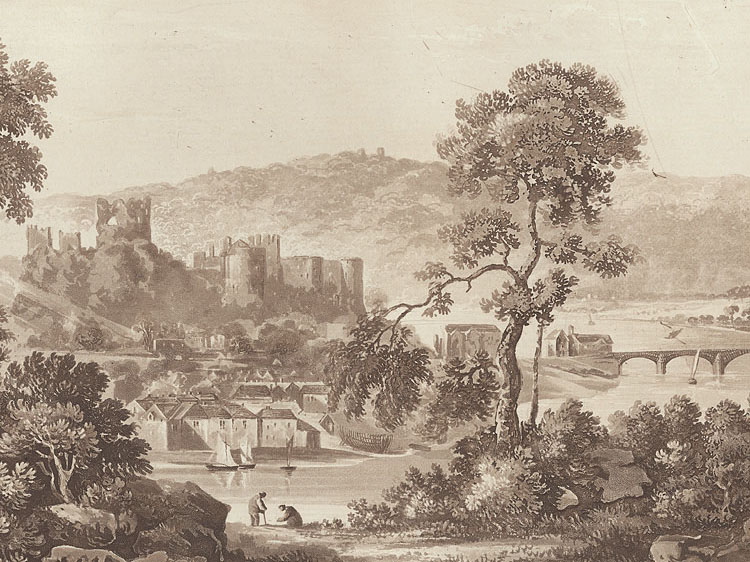Chepstow Castle, Monmouthshire