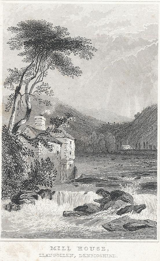 Mill house, Llangollen, Denbighshire