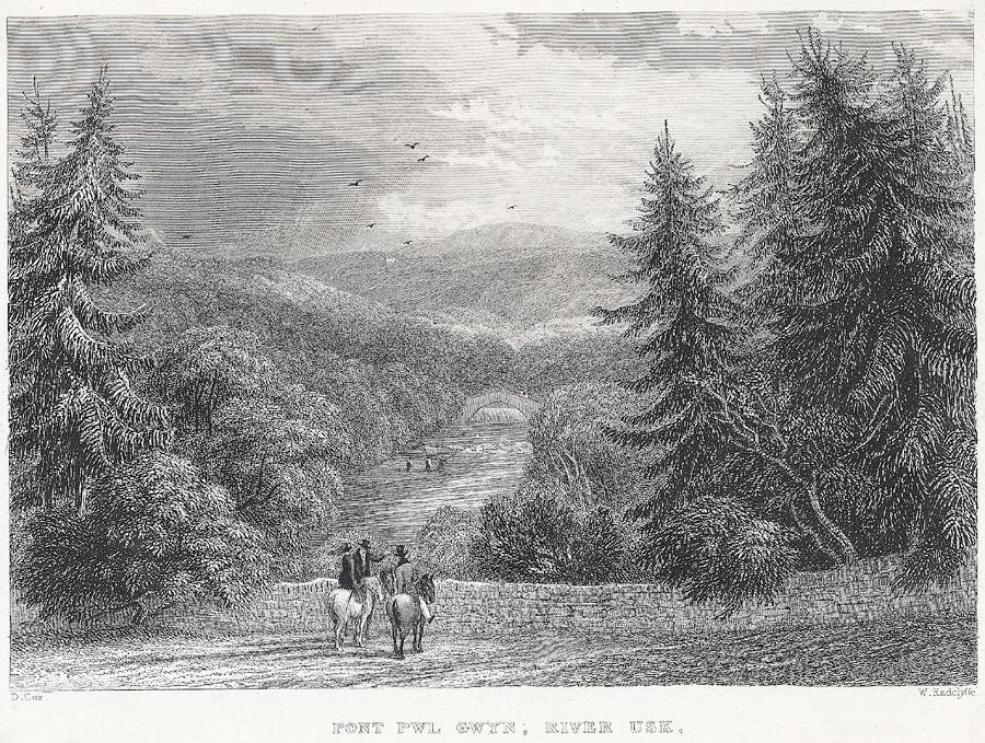 Pont Pwl Gwyn, River Usk