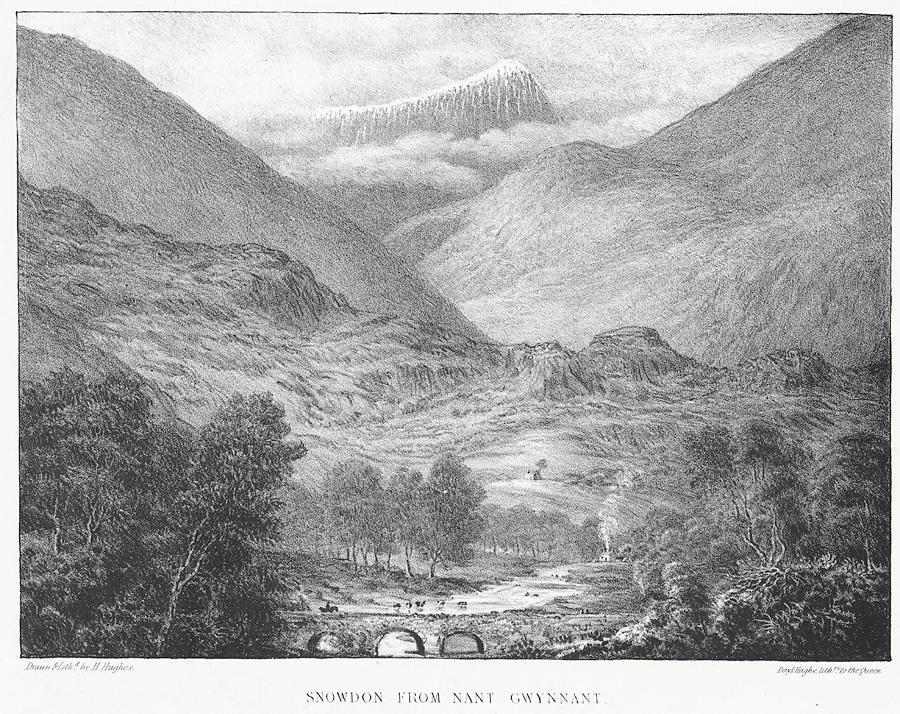 Snowdon from Nant Gwynnant