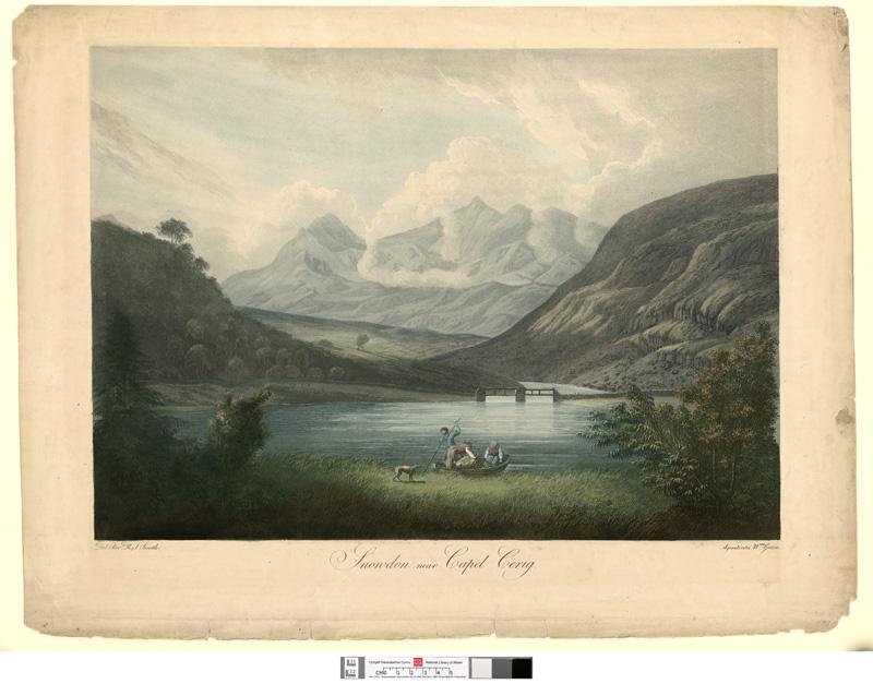 Snowdon near Capel Cerig