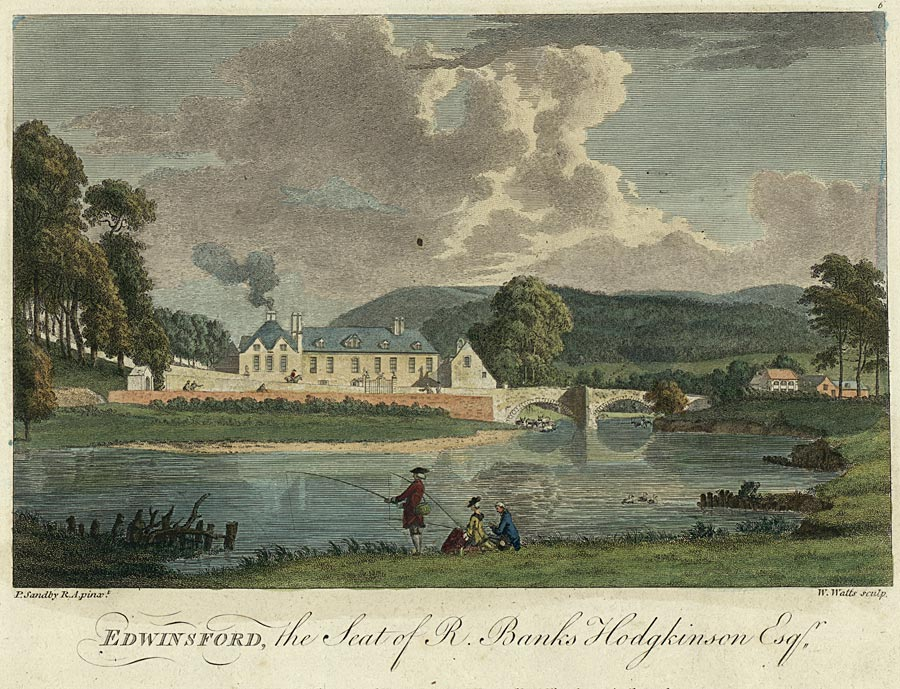 Edwinsford, the seat of R. Banks Hodgkinson esq