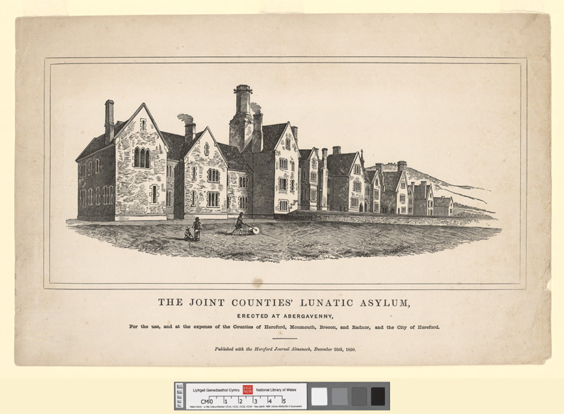 The Joint Counties' Lunatic Asylum, Erected at Abergavenny