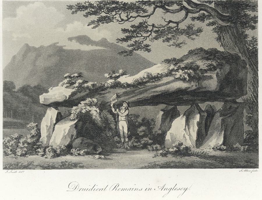 Druidical remains in Anglesey