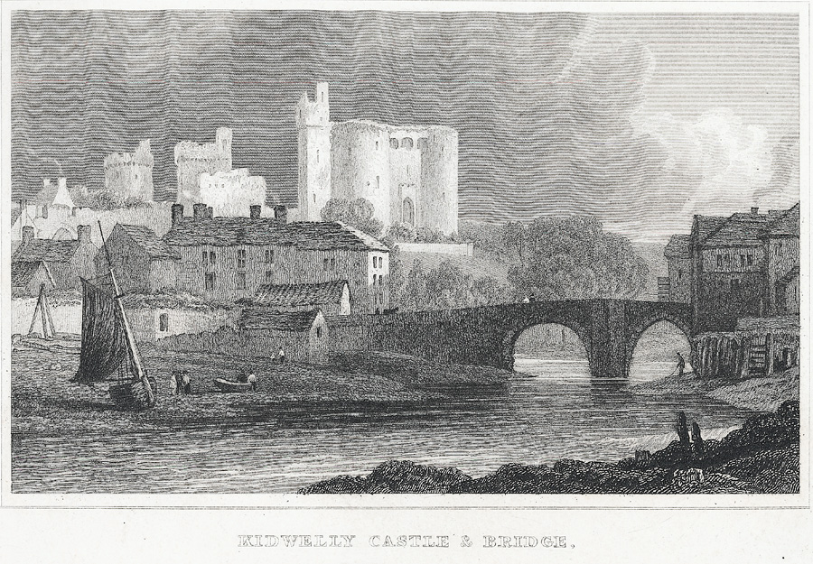 Kidwelly Castle & Bridge, Caermarthenshire