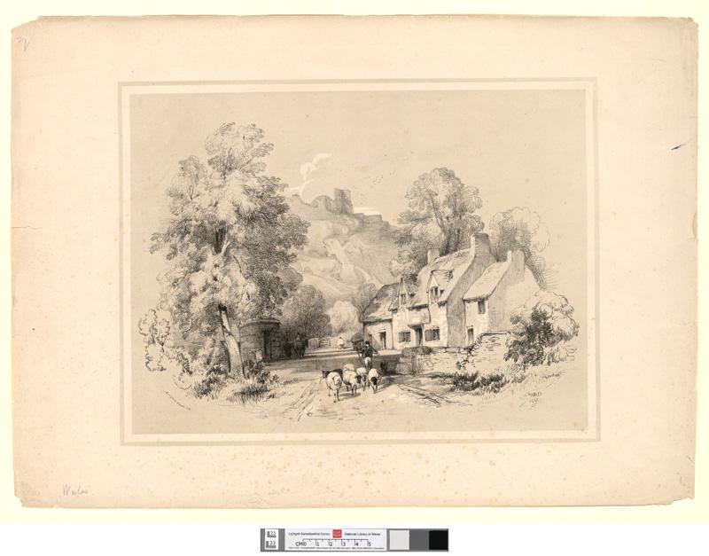 Caergwrle Castle, N.W