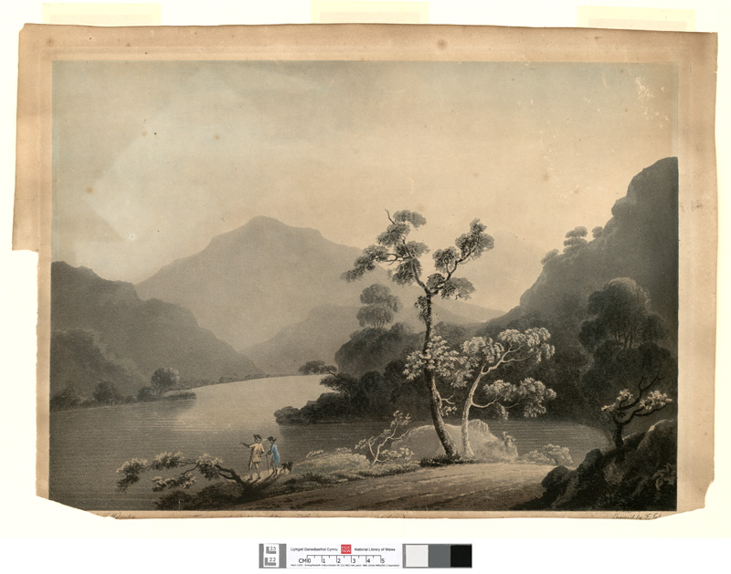 [View of Bala Pool on the River Dee