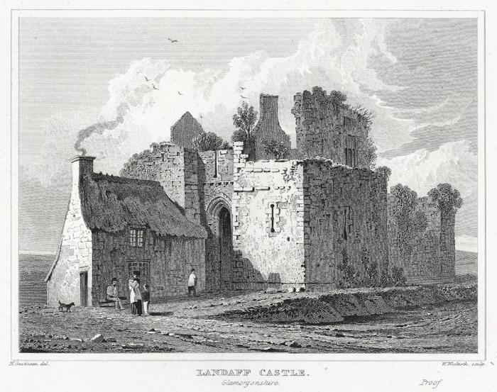 Landaff castle, Glamorgonshire