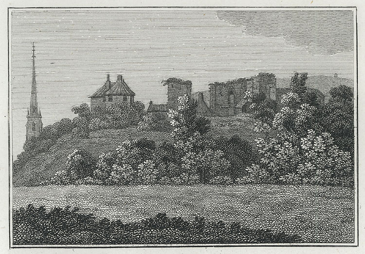 [Monmouth Castle, Church, &c.]