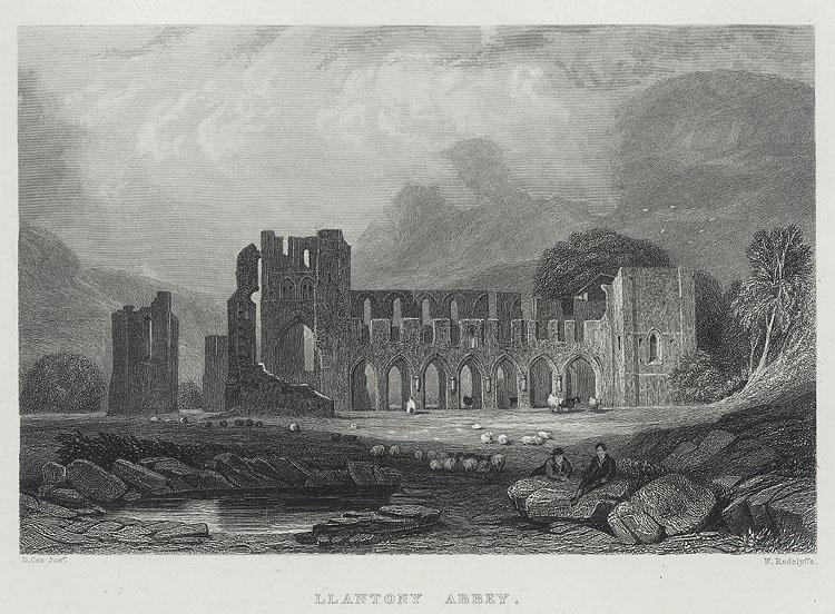 Llantony Abbey