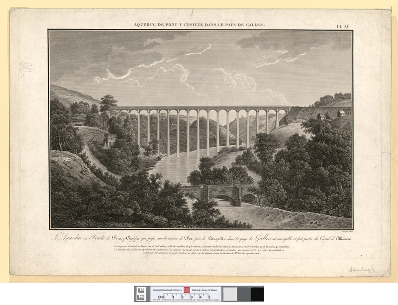 L'Aqueduc en Fonte de Pont-y-Cysylte
