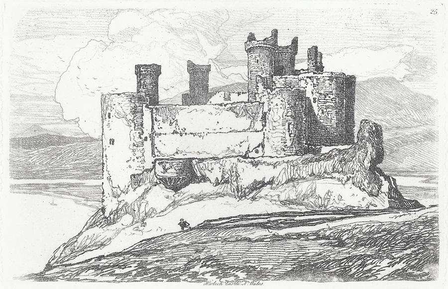 Harlech Castle, N. Wales