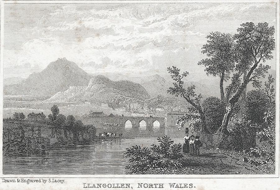 Llangollen, north Wales