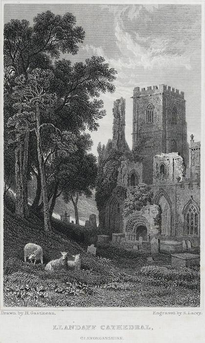 Llandaff cathedral, Glamorganshire