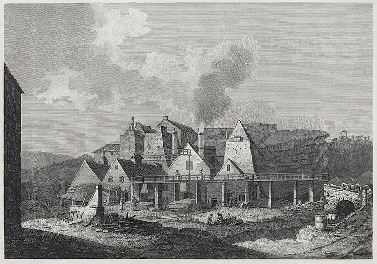 [View of iron works, Blaeavon]