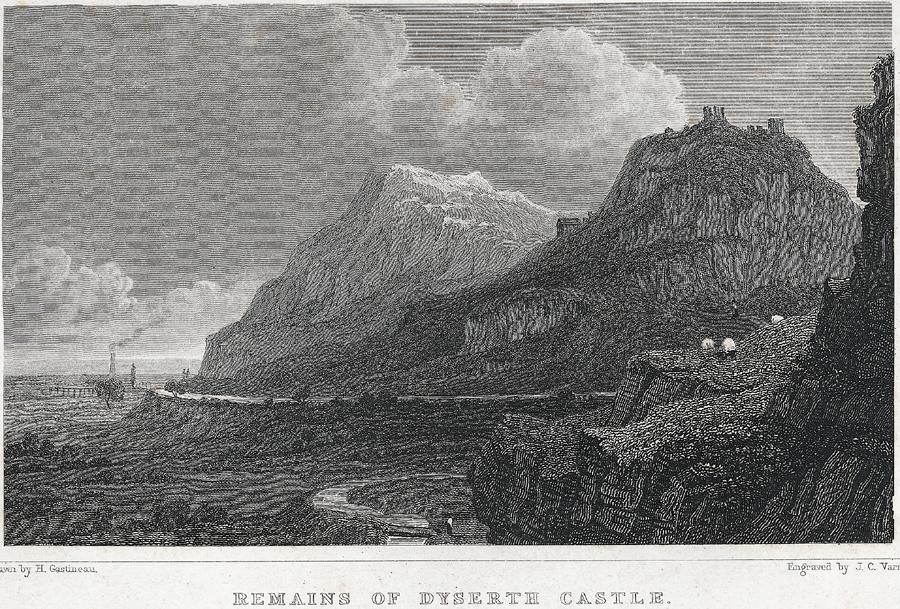 Remains Of Dyserth Castle, Flintshire