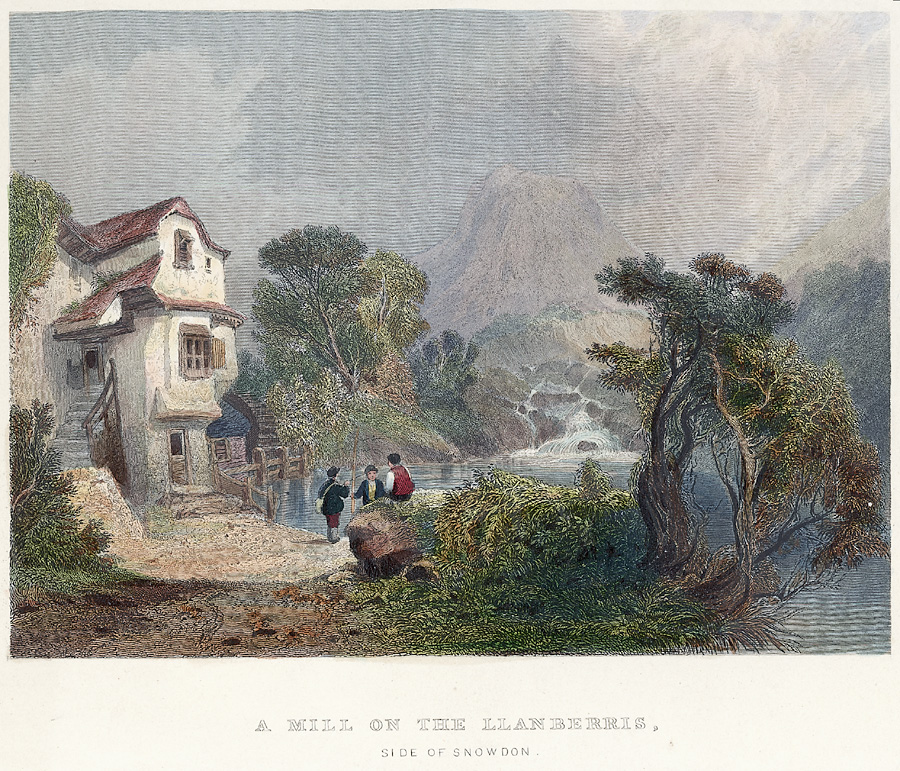 A mill on the Llanberis