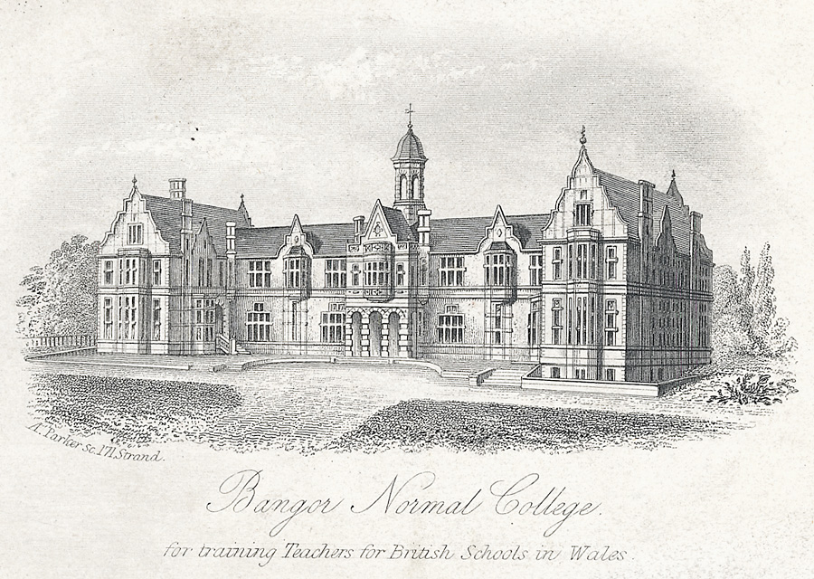 Bangor Normal College, for training Teachers for British Schools
