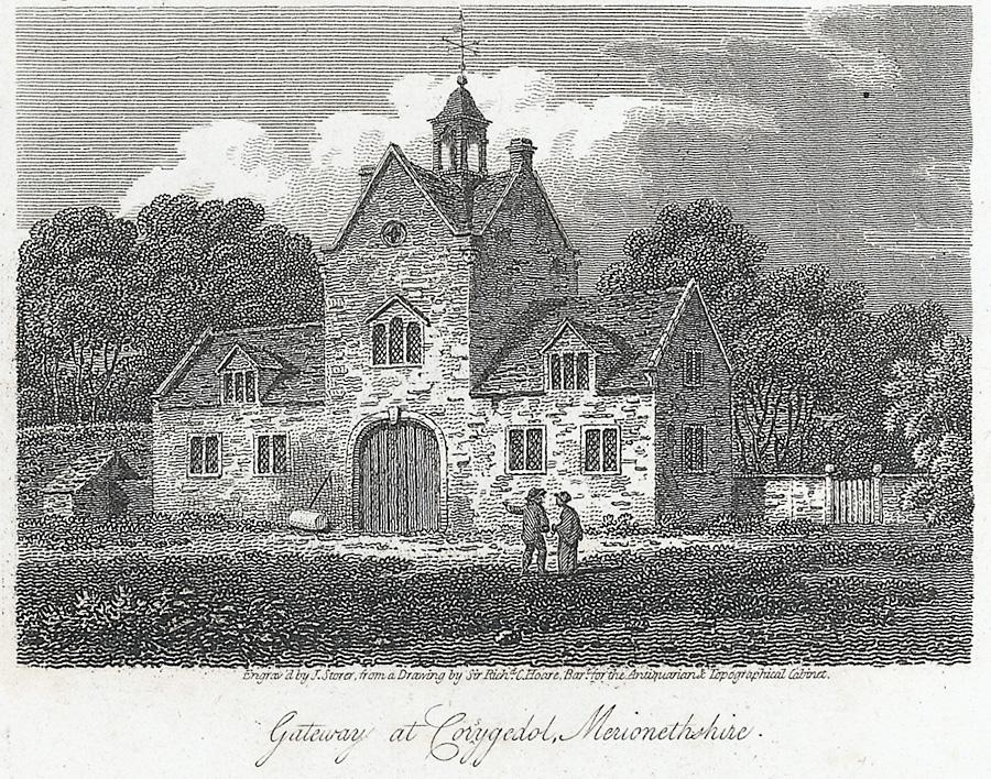 Gateway at Corsygedol, Merionethshire