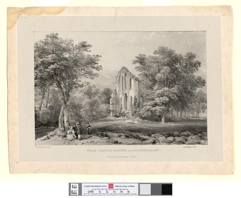 Vale Crucis Abbey, near Llangollen