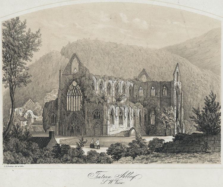 Tintern Abbey, S.W. View