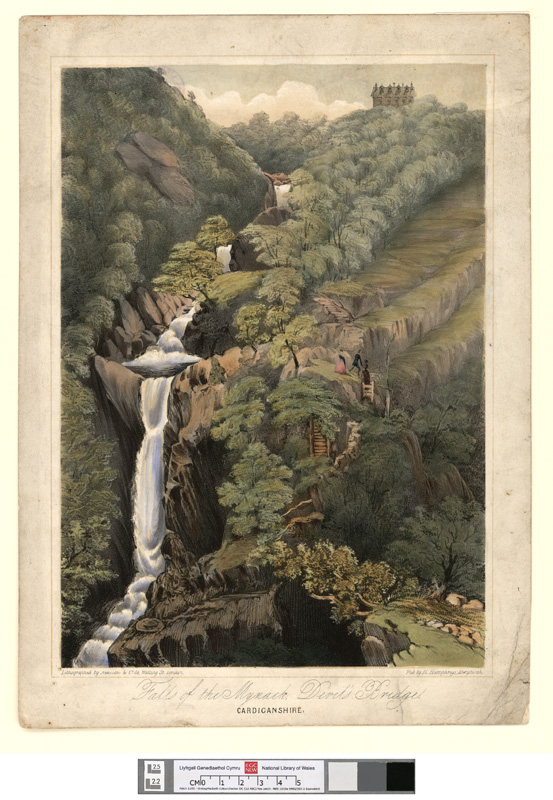 Falls of the Mynach, Devil's Bridge