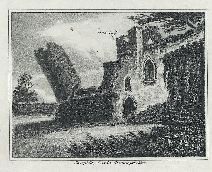 Caerphilly castle, Glamorganshire